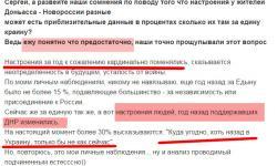 Настроения в ДНР через год войны