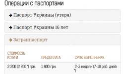 Загранпаспорт 2200 грн. (ДЁШЕВО!)