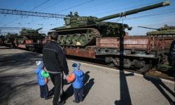 танки едут на войну