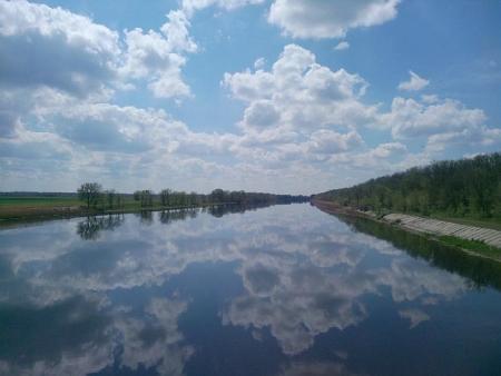 Северо-Крымский канал 5 мая 2014