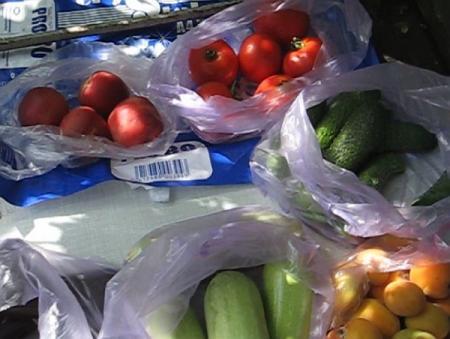 Цены на овощи и фрукты в Херсоне 24 июля 2017 г.