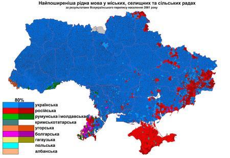 Карта, которая много объясняет