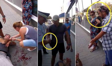 В Крыму жестоко избили парня за украинскую символику