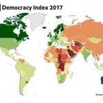 Индекс развития демократии по странам