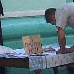 """3. Табличка """"Я против НАТО"""", добавлены яркость и контраст"""